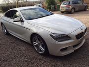 2013 Bmw 6 Series BMW 640D M SPORT AUTO WHITE (63 Reg) 40k Miles FBM